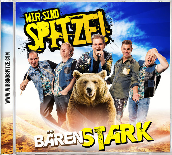 "CD Album ""Bärenstark"""